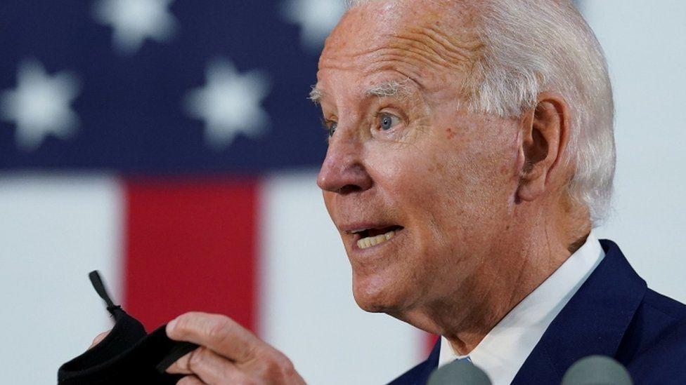 Joe Biden at campaign event in Wilmington, Delaware on 30 June