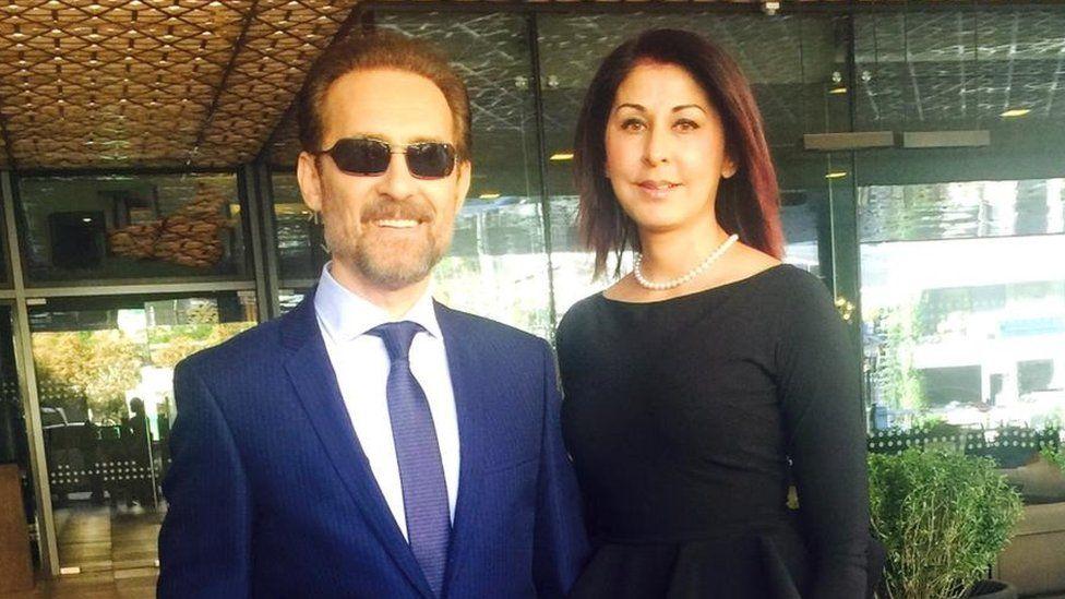 Farhad Darya and his wife, Sultana