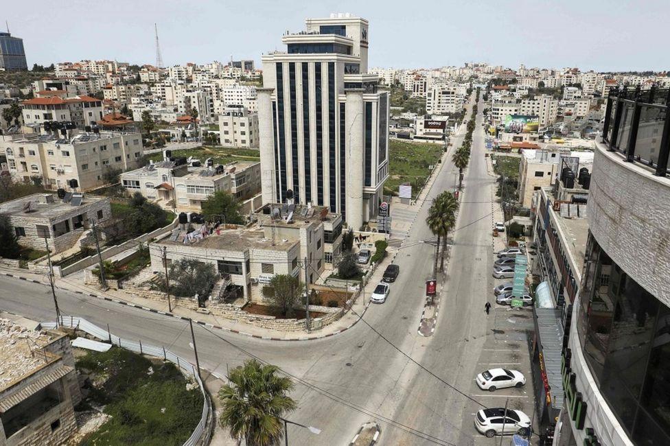 улицы Рамаллы