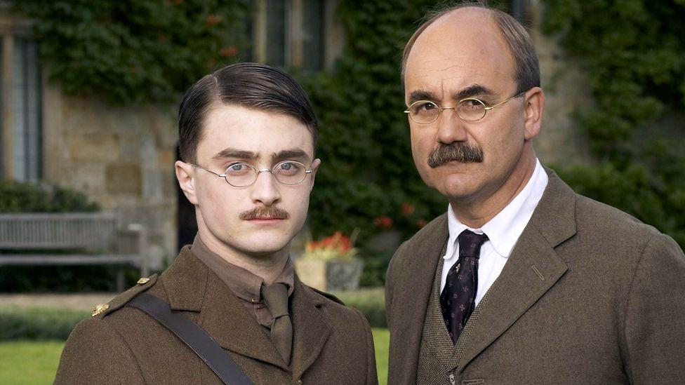 Daniel Radcliffe and David Haig in My Boy Jack