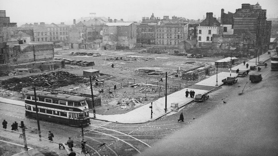 Belfast after the blitz