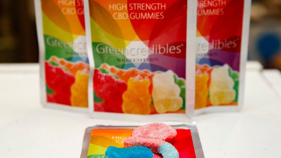 CBD infused sweets