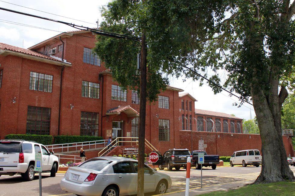 Huntsville death chamber, Texas