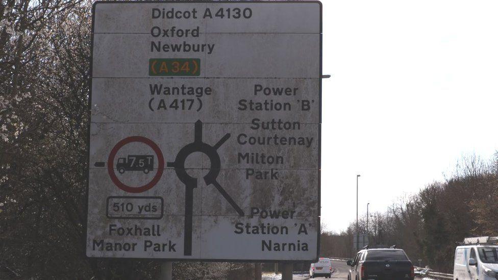 Narnia sign