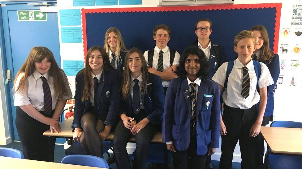 pupils at St Joseph's