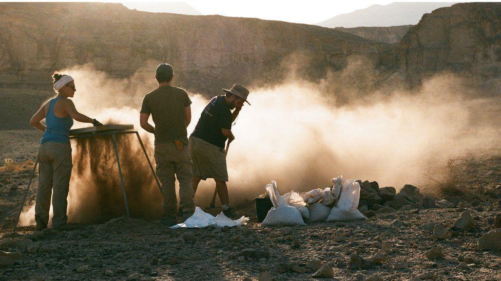 Excavation at Timna