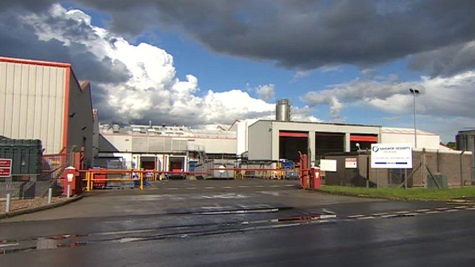 Bakkavor factory in Newark