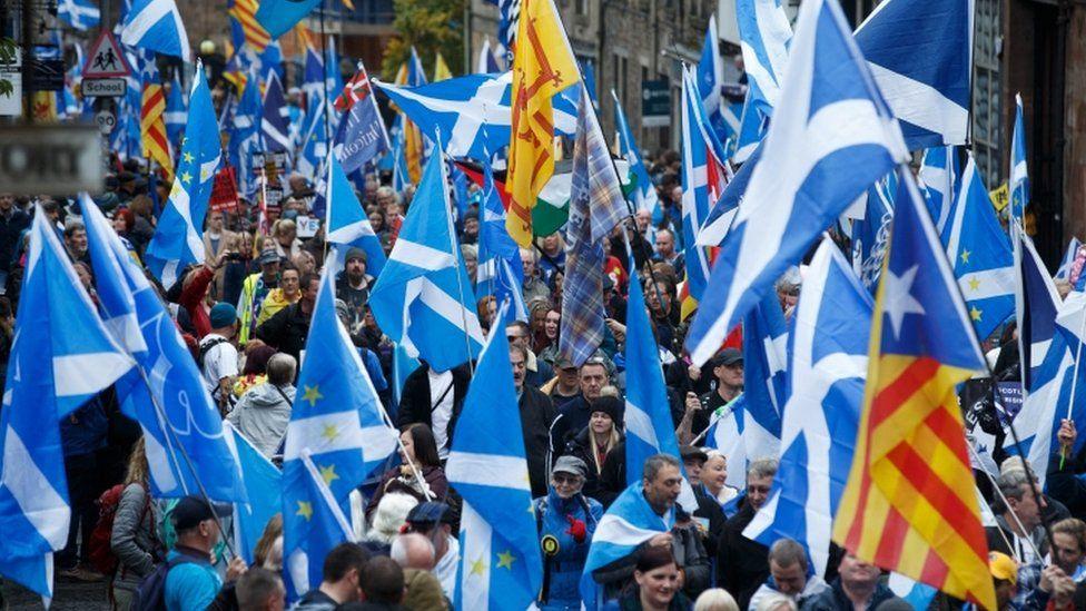 All Under One Banner march in Edinburgh
