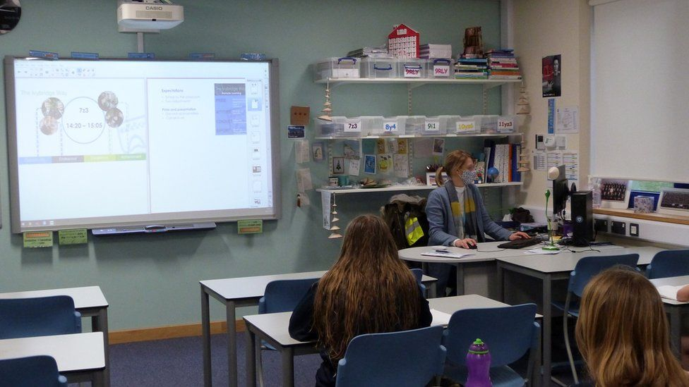 Classroom at Ivybridge Community College