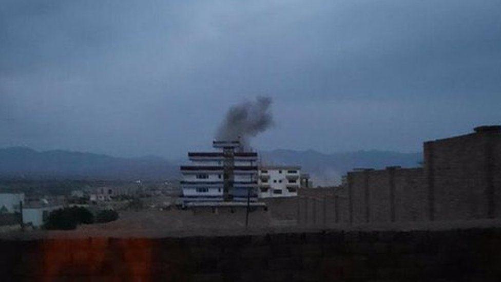 Logar car bomb blast in Pul-e-Alam