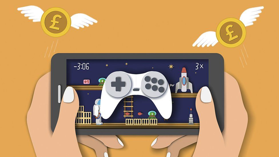 Are in-app purchases ruining mobile video games? - BBC News