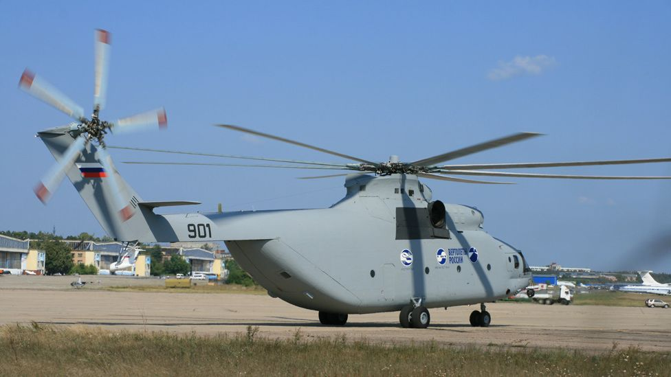 Russian Mi-26 helicopter