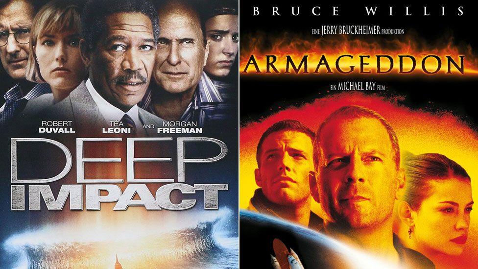 Deep Impact and Armageddon