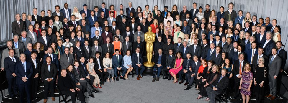 Oscars class photo