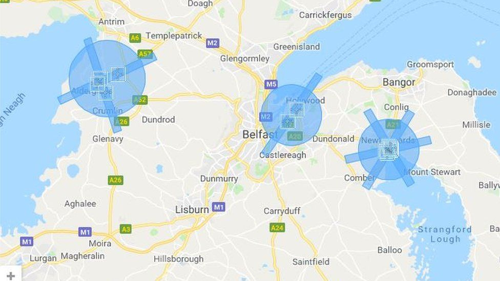 There are three restriction zones in Antrim