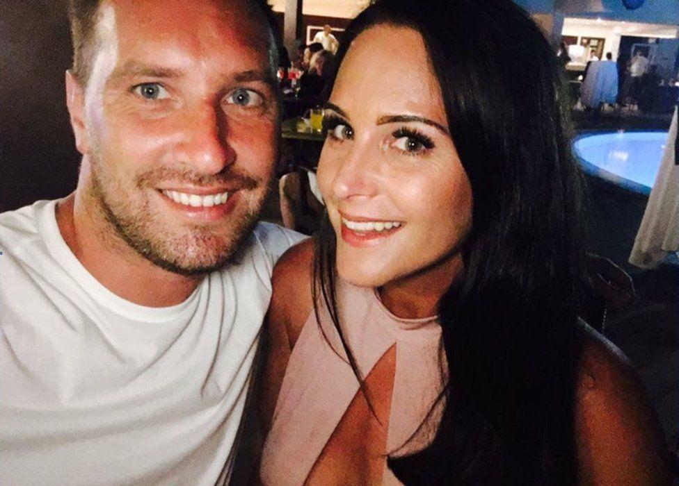 Ben Farina and his partner Clare Moran