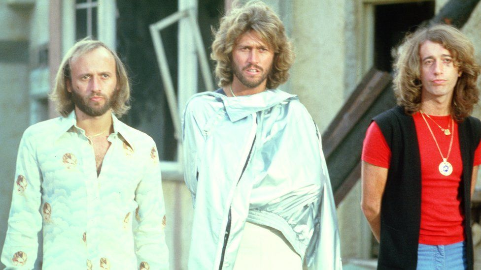 The Bee Gees in 1977