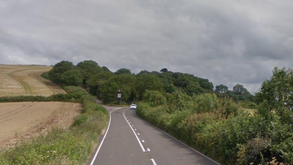 Teignmouth road in Shaldon