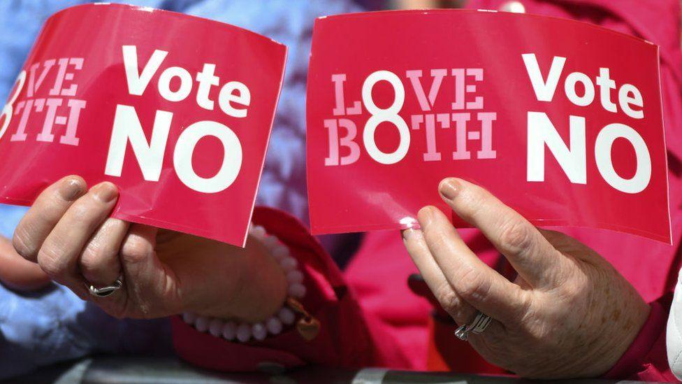 Vote NO leaflet