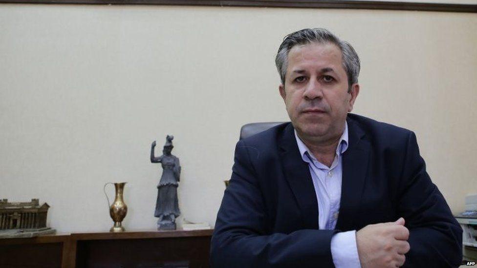Syria's Director of Antiquities Maamoun Abdul Karim (19 August 2015)