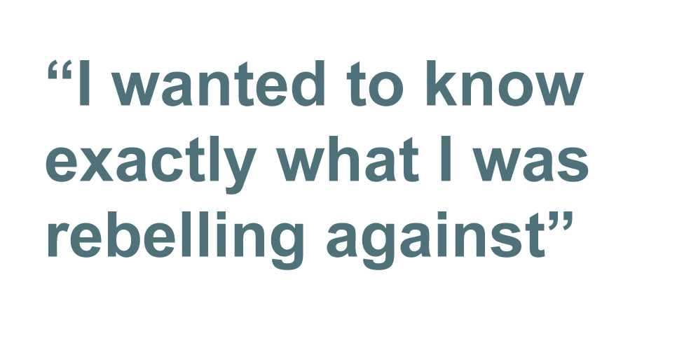Quote: I wanted to know exactly what I was rebelling against