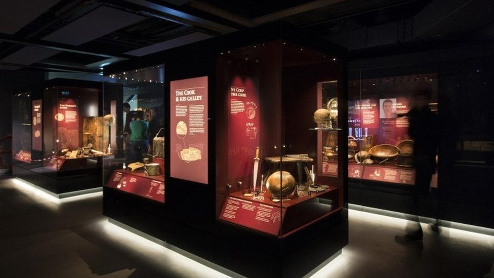 Mary Rose Museum at Portsmouth Historic Dockyard in Hampshire