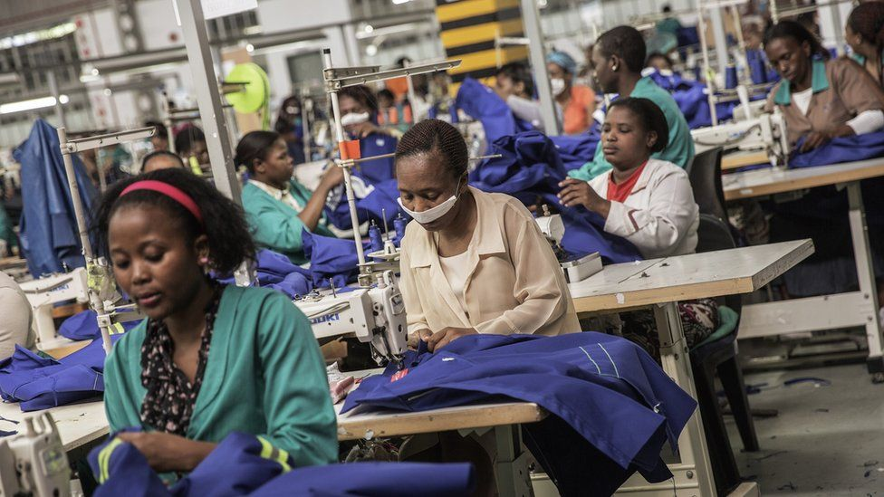 Textile workers in Swaziland