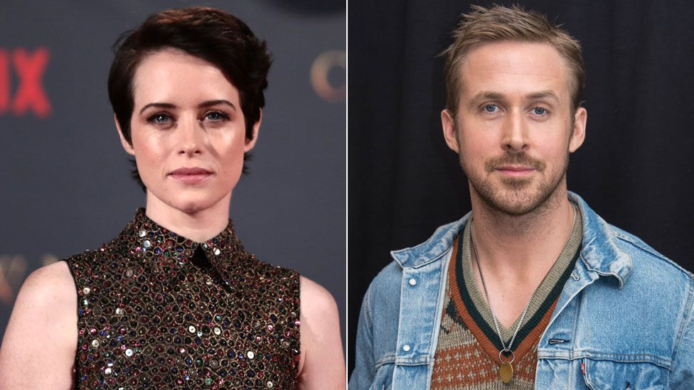 Claire Foy and Ryan Gosling