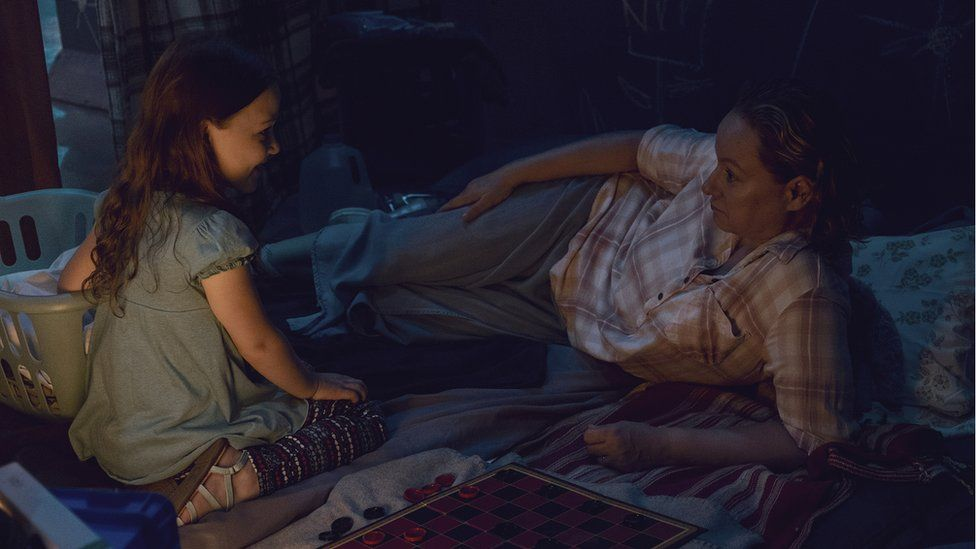 Samantha Morton as Alpha in The Walking Dead
