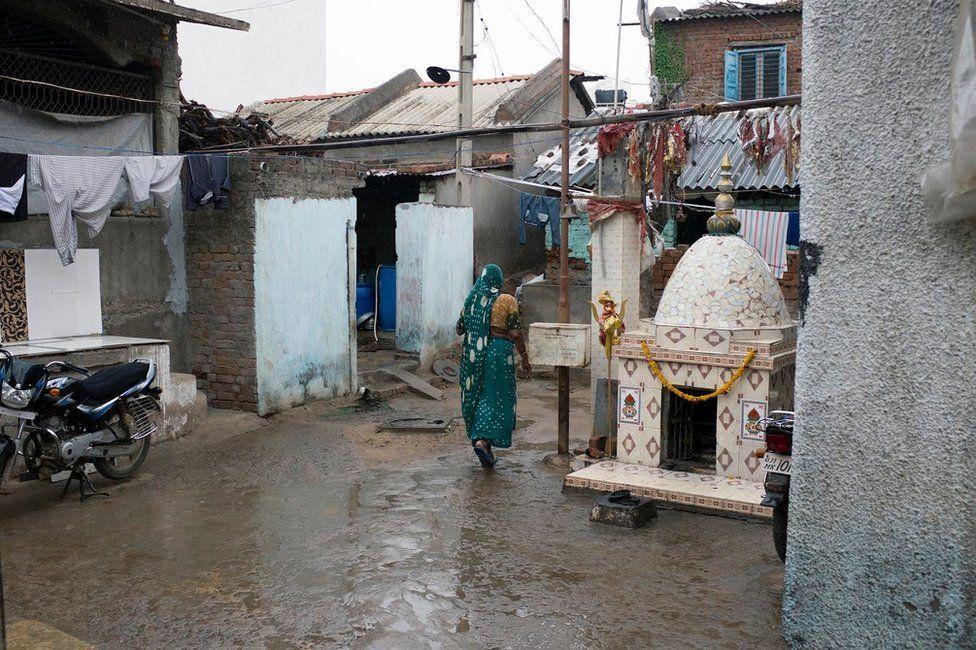 Dalit village