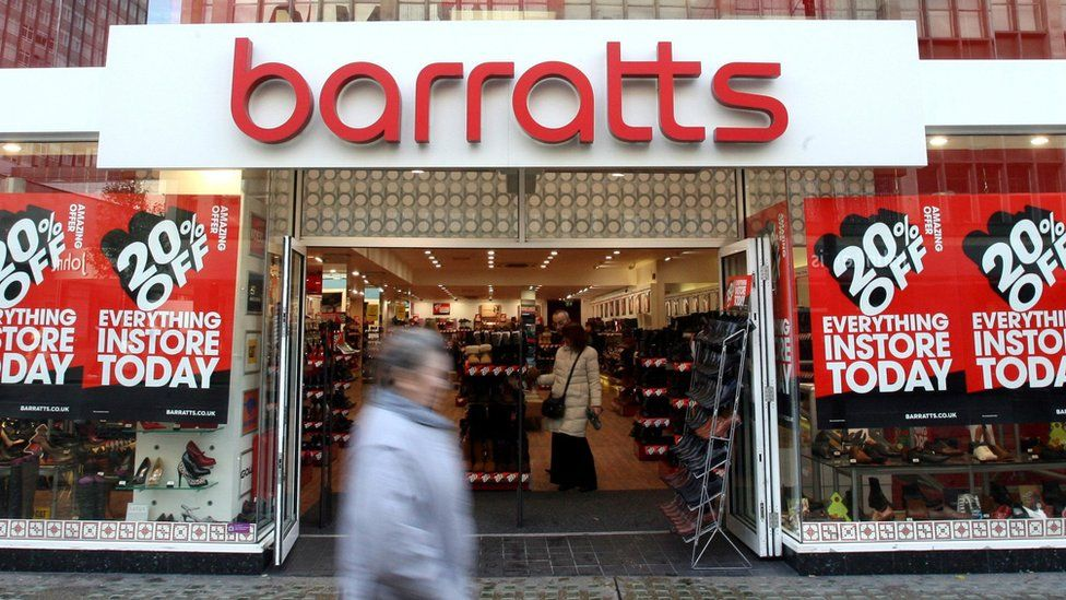 A Barratts shoe shop