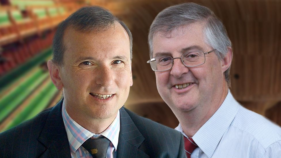 Alun Cairns and Mark Drakeford