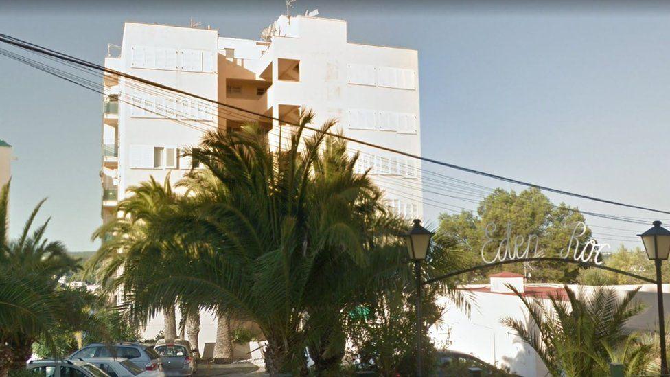 The Eden Roc apartment block in Magaluf
