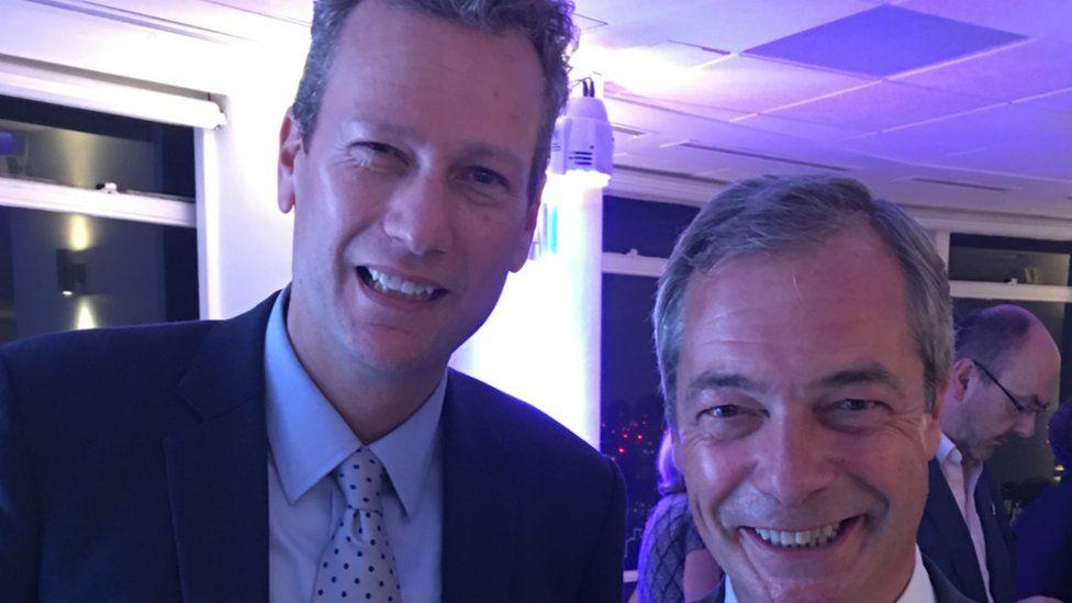 Nathan Gill and Nigel Farage