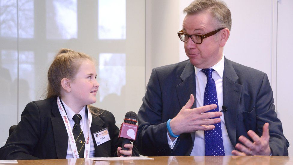 School Reporter and Micheal Gove