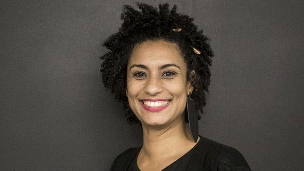 Marielle Franco, activista de derechos humanos y miembro del partido PSOL.