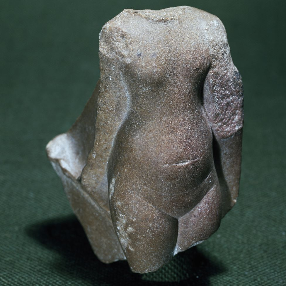 Torso of a princess, acquired by Flinders Petrie while working for the Egypt Exploration Fund