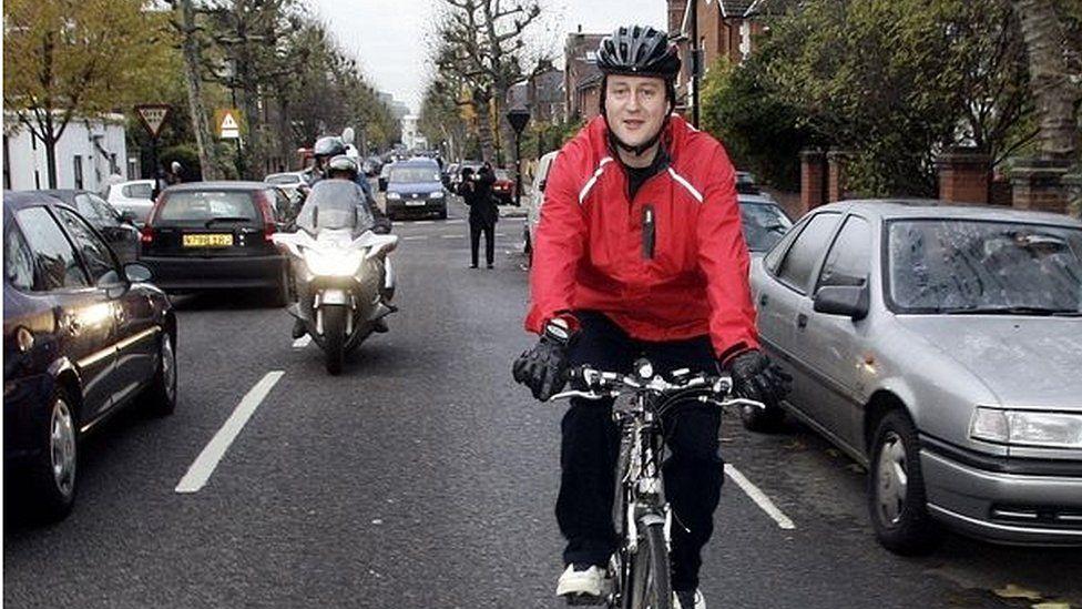 David Cameron in 2005