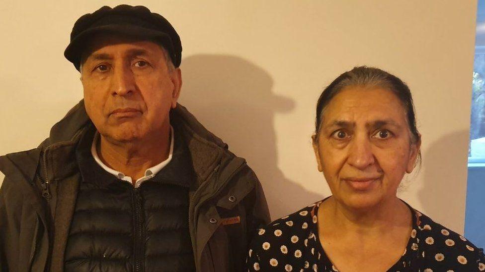 Kashmir and Gurnan Gill