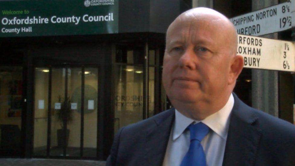 Council leader Ian Hudspeth