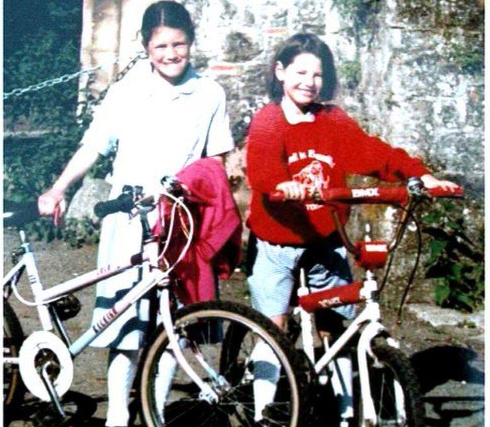 Josie (left) and Megan