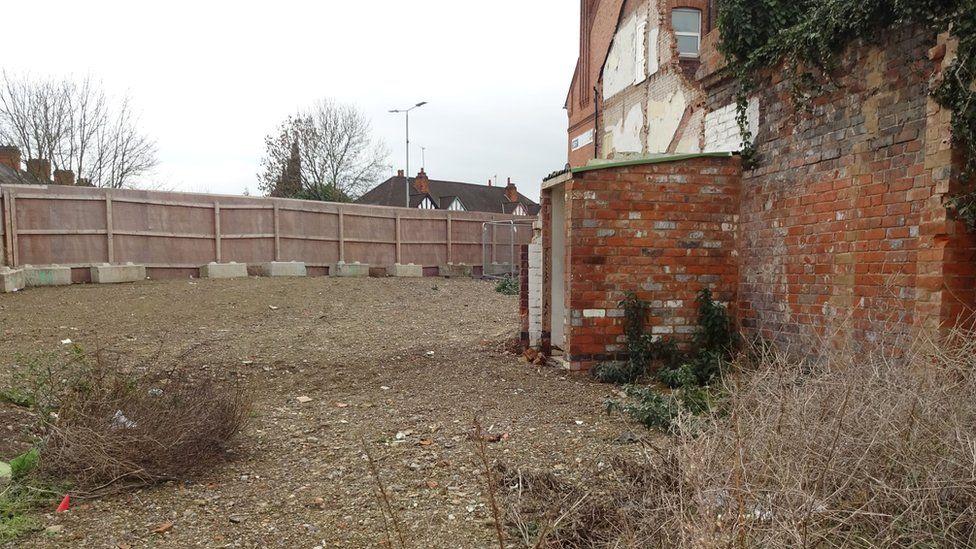 Hinckley Road demolished site