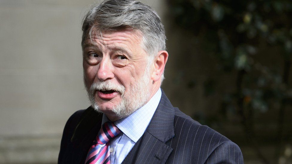 Donald Findlay outside the High Court in Glasgow
