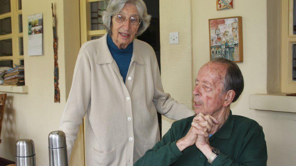 Richard Pankhurst and his wife, Rita