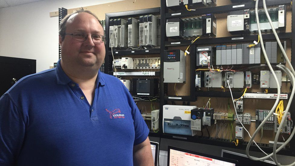 Jim Allen at Cougar Automation