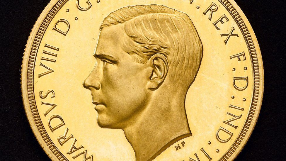 """The gold coin is described as """"extremely rare"""""""