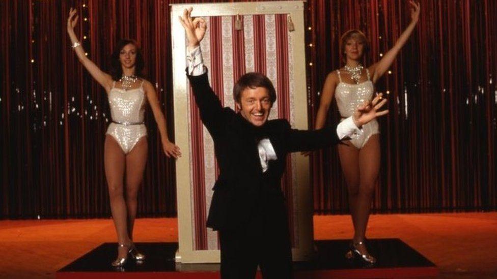 Paul daniels magic show.