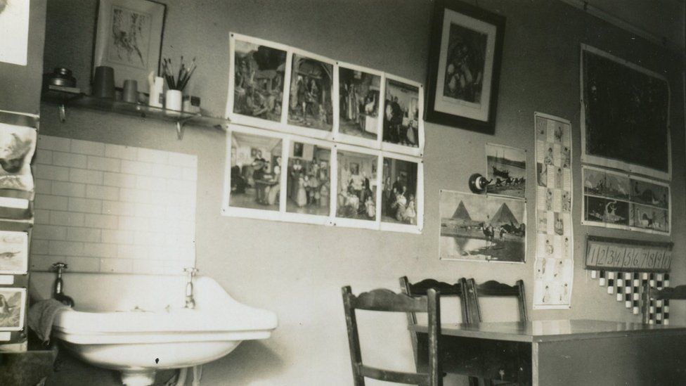Ms Colhoun's preparatory school at her Deanfield home