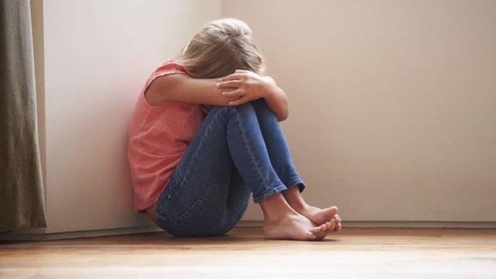 upset girl