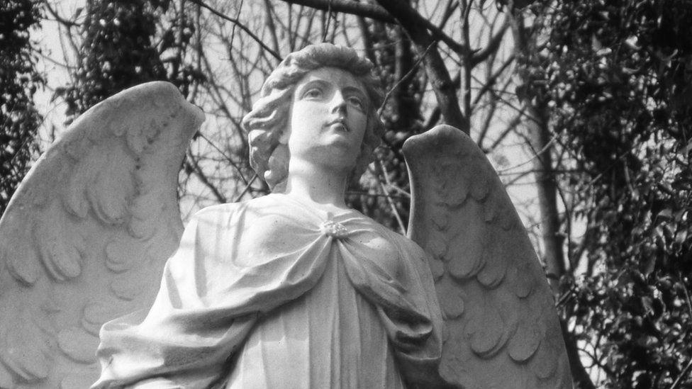 Angel in Highgate Cemetery